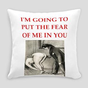 spanking joke Everyday Pillow