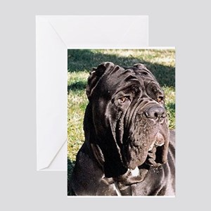 Neapolitan_Mastiff Greeting Cards