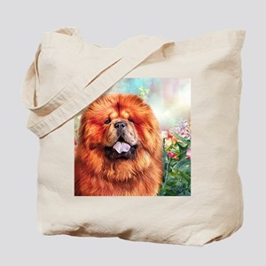 Chow Chow Painting Tote Bag