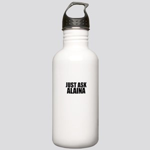 Just ask ALAINA Stainless Water Bottle 1.0L