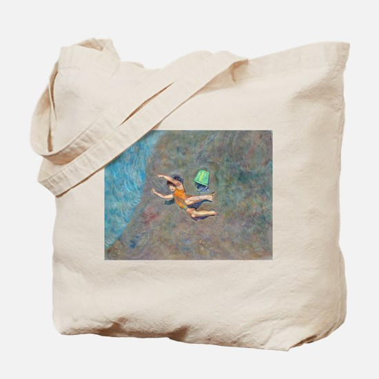 Unique Sea bucket Tote Bag