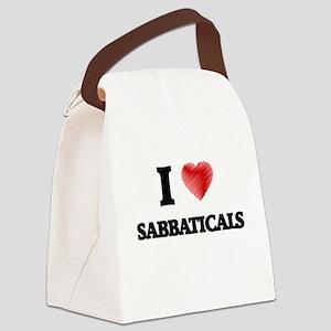 I Love Sabbaticals Canvas Lunch Bag