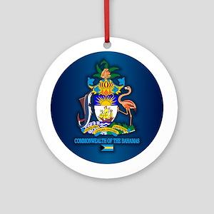 Bahamas COA Round Ornament