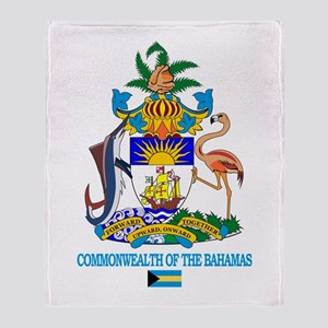 Bahamas COA Throw Blanket
