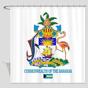 Bahamas COA Shower Curtain