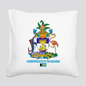 Bahamas COA Square Canvas Pillow