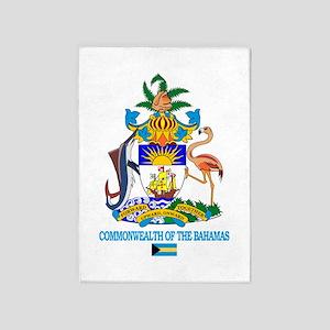 Bahamas COA 5'x7'Area Rug