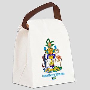Bahamas COA Canvas Lunch Bag