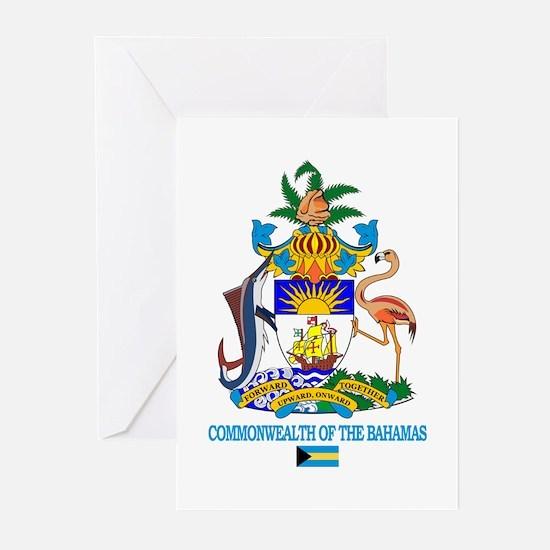 Bahamas COA Greeting Cards