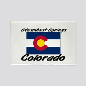 Steamboat Springs Colorado Rectangle Magnet