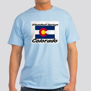 Steamboat Springs Colorado Light T-Shirt