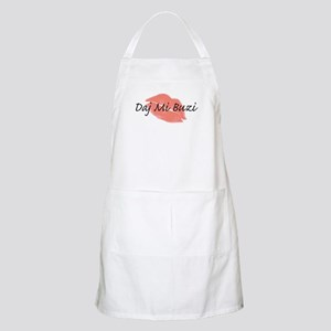 Polish-Give Me A Kiss BBQ Apron