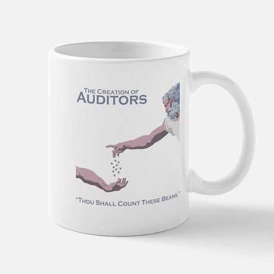 The Creation of Auditors Mug