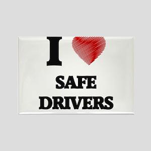I Love Safe Drivers Magnets