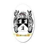 Shinagh 35x21 Oval Wall Decal