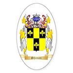 Shimon Sticker (Oval 50 pk)