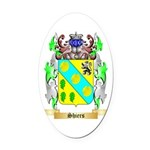 Shiers Oval Car Magnet