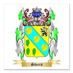 Shiers Square Car Magnet 3