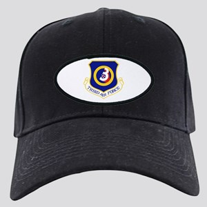 USAAF 3rd Air Force logo Black Cap