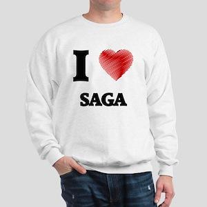 I Love Saga Sweatshirt