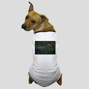 Great Blue Heron Dog T-Shirt