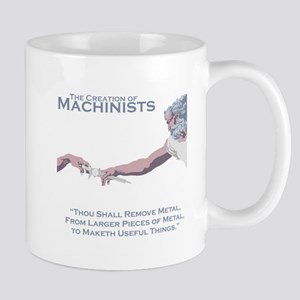 The Creation of Machinists Mug