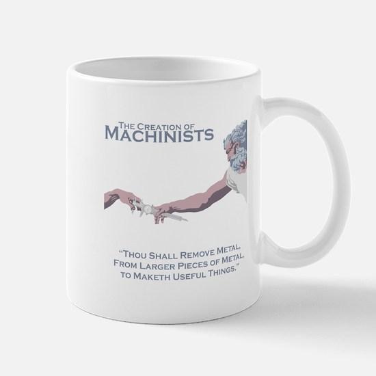 The Creation of Machinists Mug