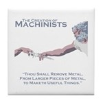 The Creation of Machinists Tile Coaster