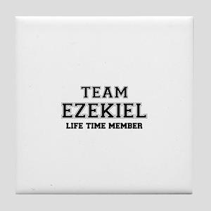 Team EZEKIEL, life time member Tile Coaster