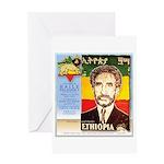 Haile Selassie I Greeting Card