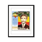 Haile Selassie I Framed Panel Print