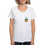 Haile Selassie I Women's V-Neck T-Shirt