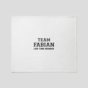 Team FABIAN, life time member Throw Blanket