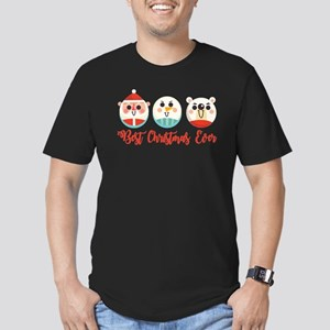 Best Christmas Ever. Emoticons-Santa, Snow T-Shirt