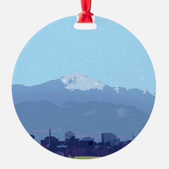 Colorado Springs Ornament