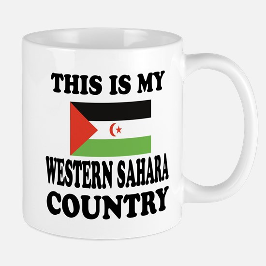This Is My Western Sahara Country Mug