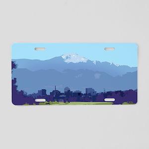 Colorado Springs Aluminum License Plate