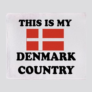 This Is My Denmark Country Throw Blanket