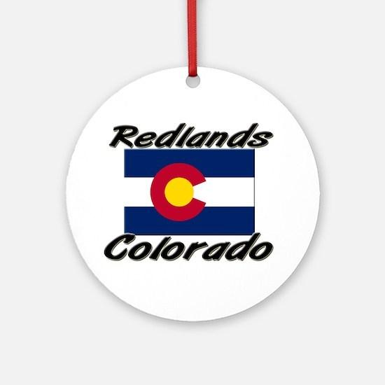Redlands Colorado Ornament (Round)