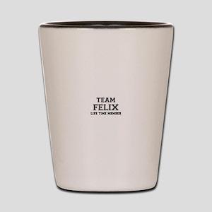 Team FELIX, life time member Shot Glass
