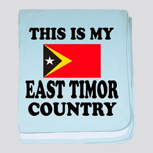 This Is My East Timor Country baby blanket