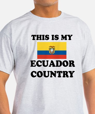 This Is My Ecuador Country T-Shirt