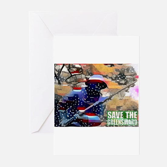 Overton Park SAVE THE GREENSWARD Greeting Cards