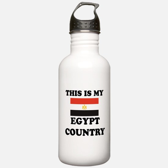 This Is My Egypt Count Water Bottle