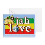 Jah Love Greeting Card