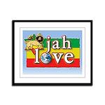 Jah Love Framed Panel Print