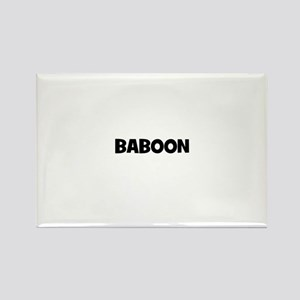 baboon Rectangle Magnet