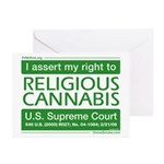 Religious Cannabis Greeting Cards (Pk of 20)