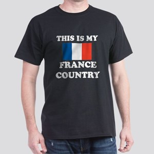 This Is My France Country Dark T-Shirt