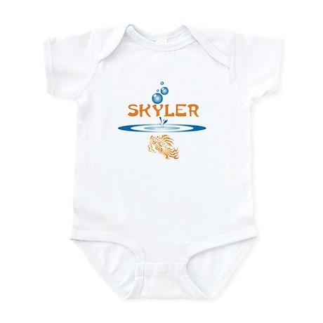 Skyler (fish) Infant Bodysuit